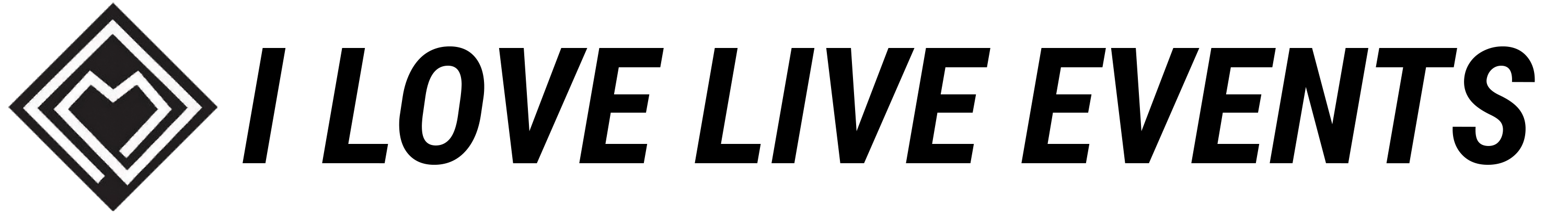 I Love Live Events Logo