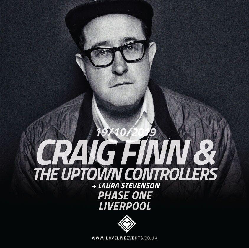 Laura Stevenson announced as support for Craig Finn & The Uptown Controllers