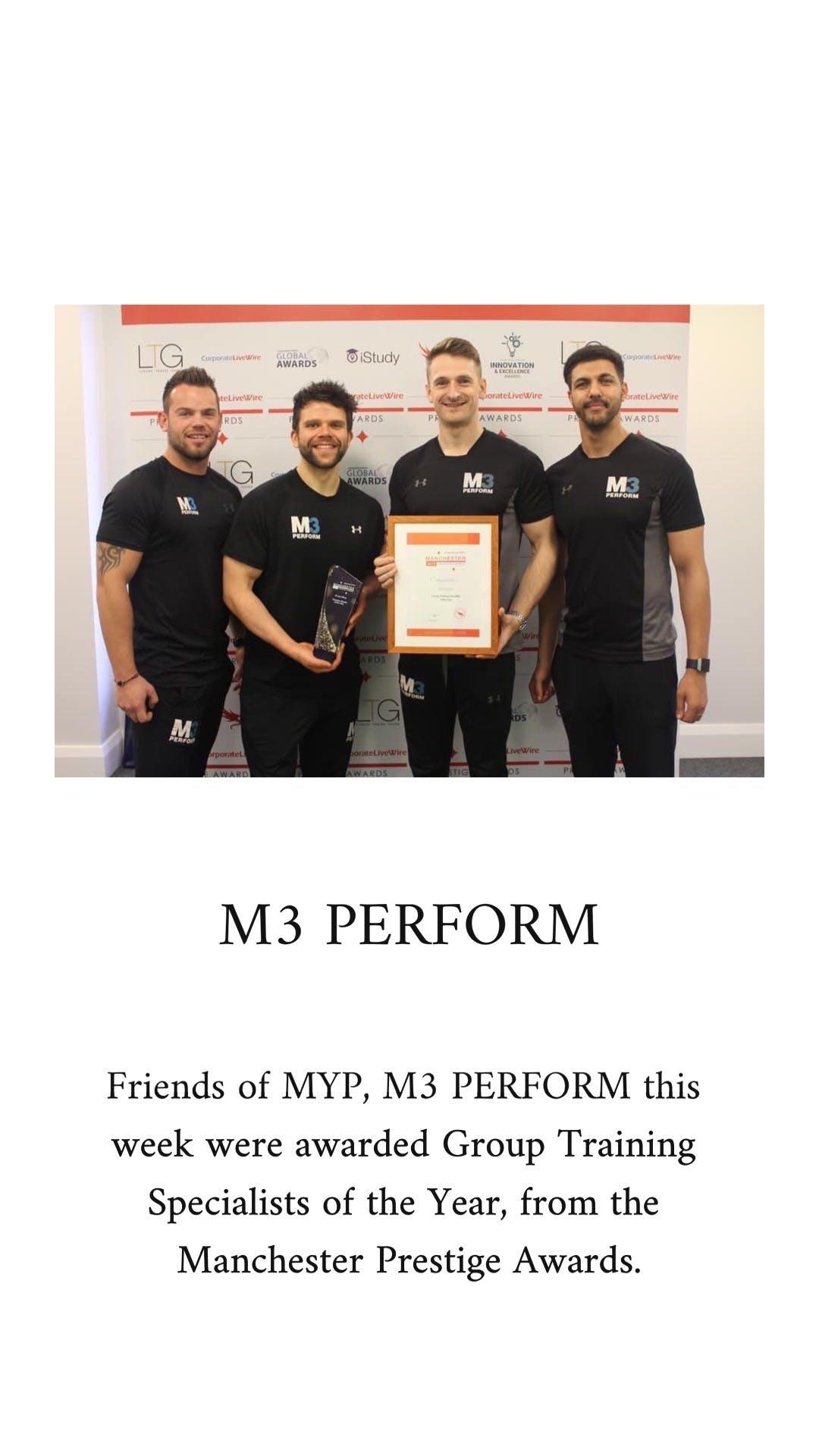 M3 perform bio