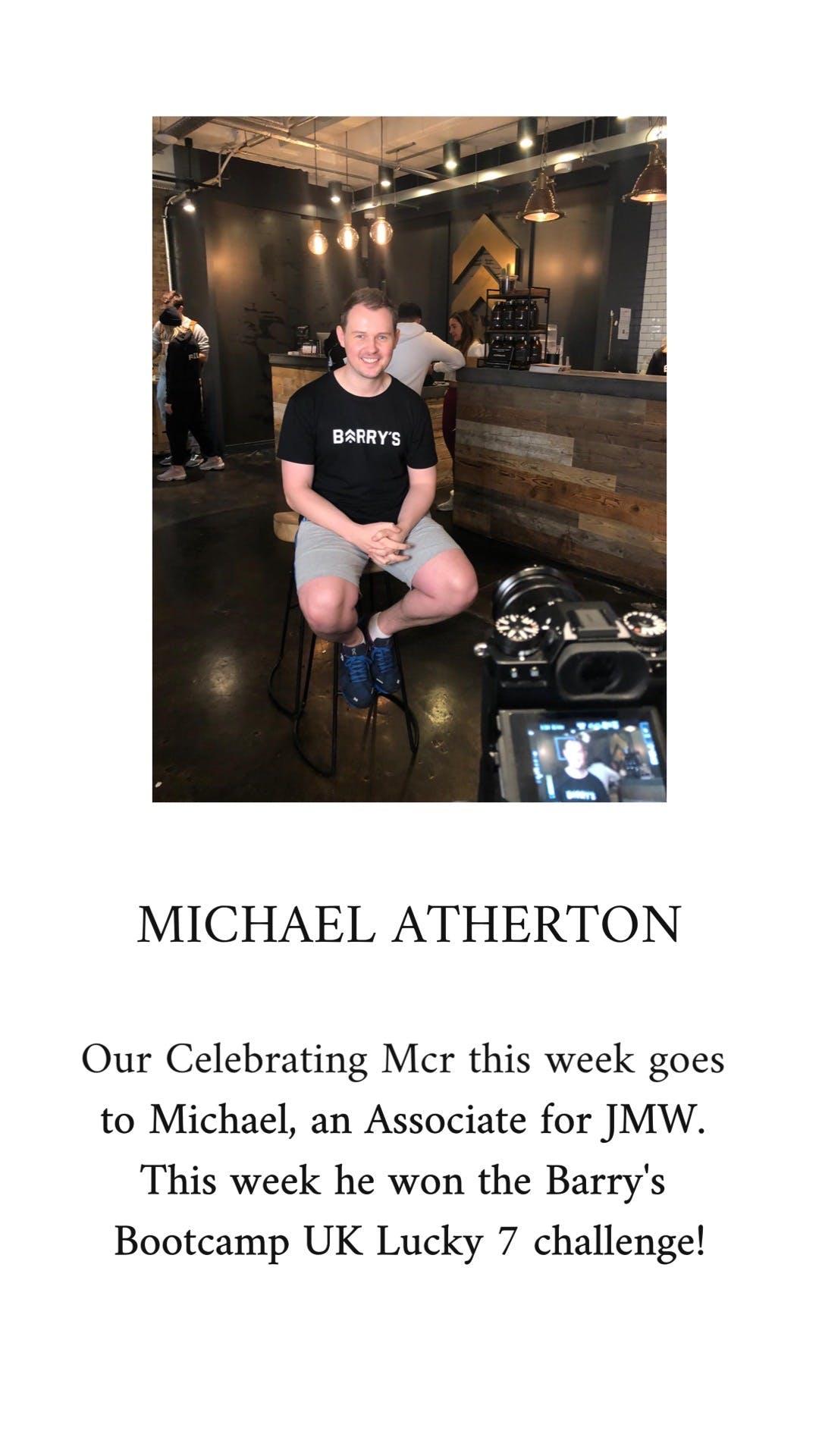 michael atherton bio