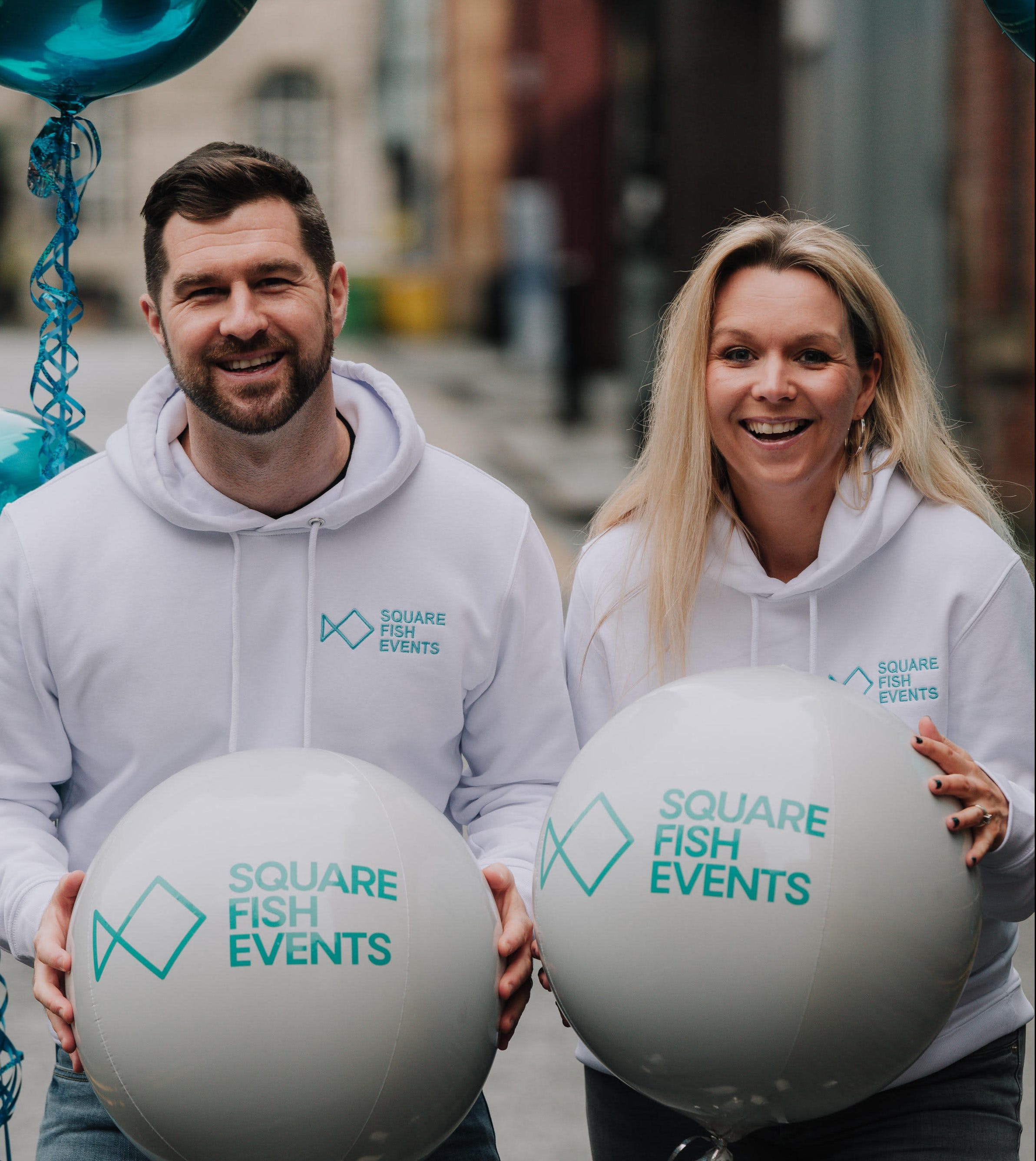 The owners of Square Fish Events