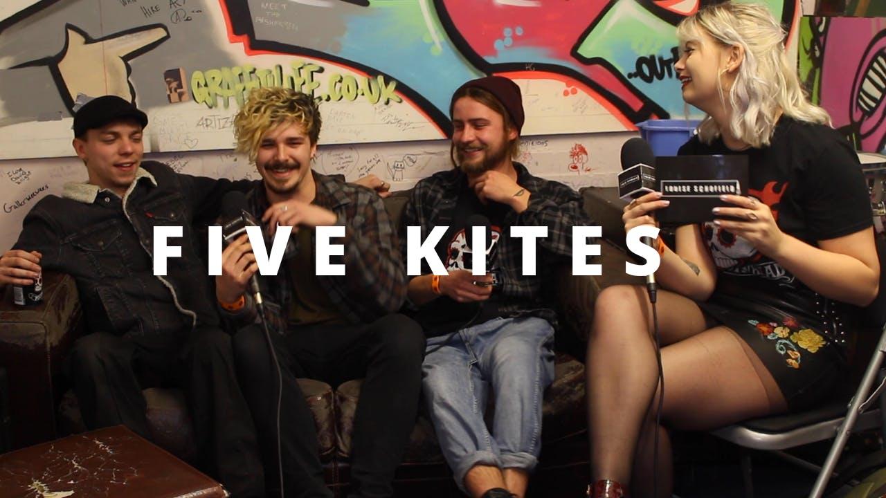 Five Kites Speak To Louise Schofield Ahead of UK Tour Run