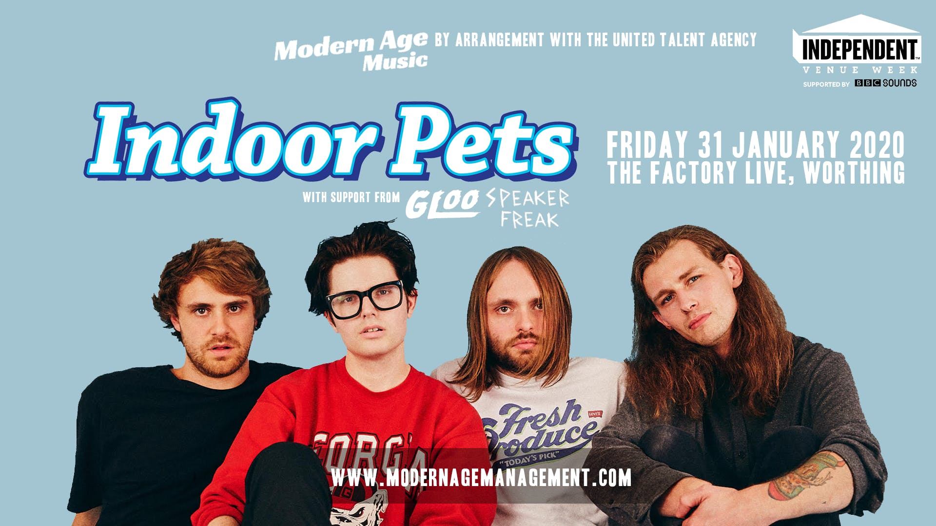 IVW 2020: Indoor Pets Play The Factory Live