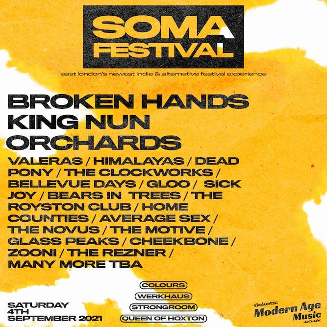 Soma Festival 2021 Announced