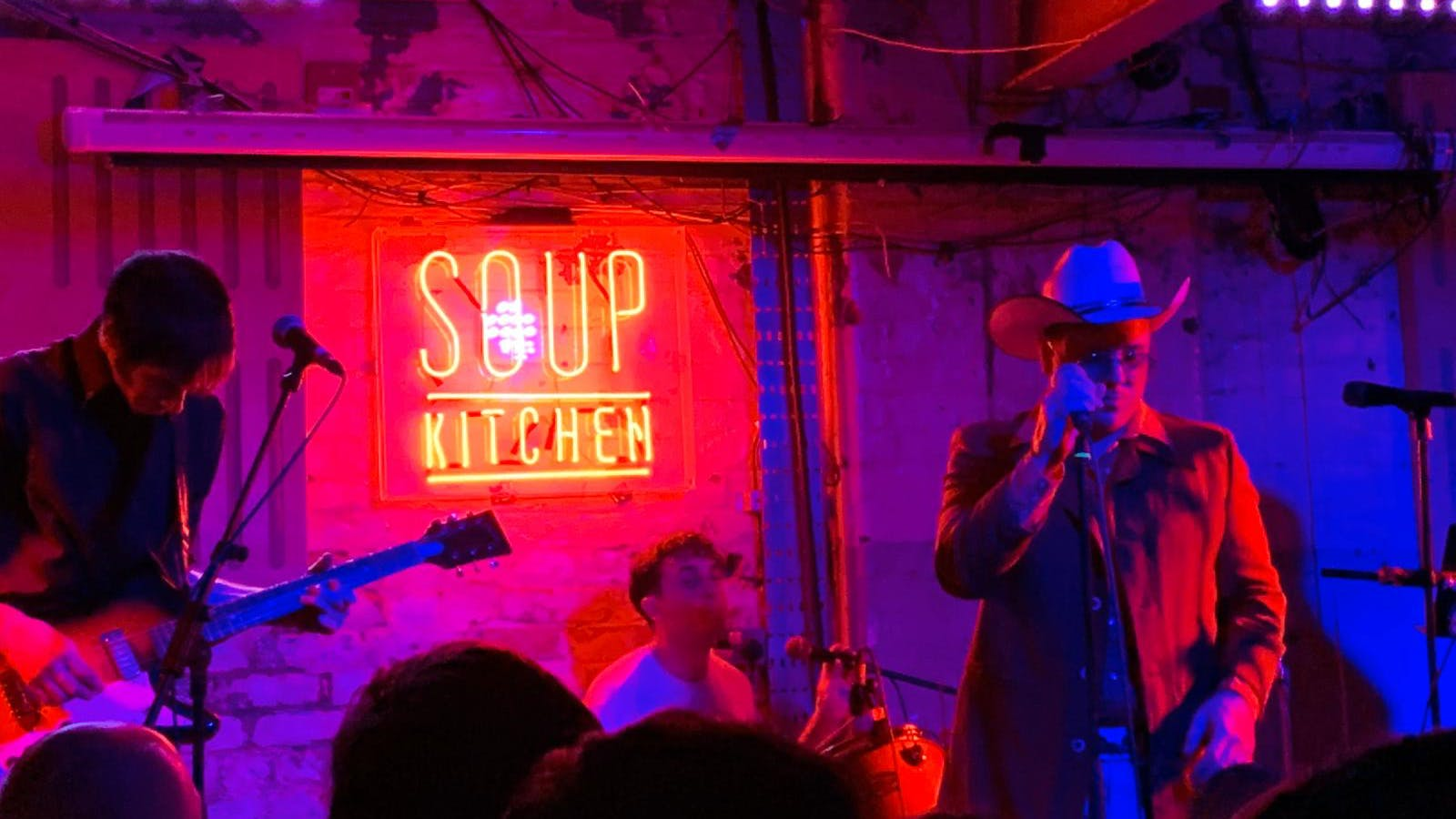 """Good Energy, Good People, Musical Fuck Fest""… Warmduscher live at Soup Kitchen"