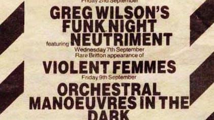 GREG WILSON'S FUNK NIGHT – 19_08_83