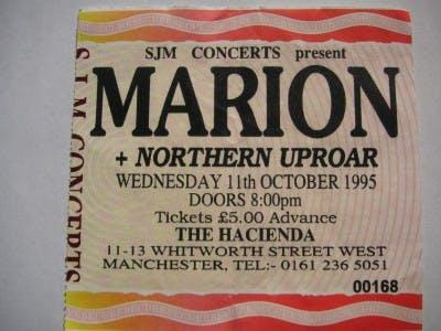 MARION, NORTHERN UPROAR 11_10_95