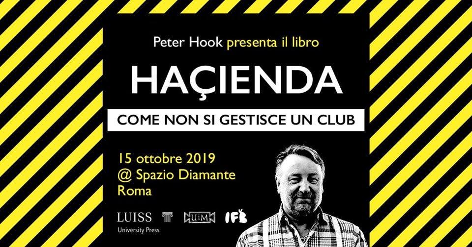 HAÇIENDA BOOK ITALIAN PUBLICATION ROME EVENT