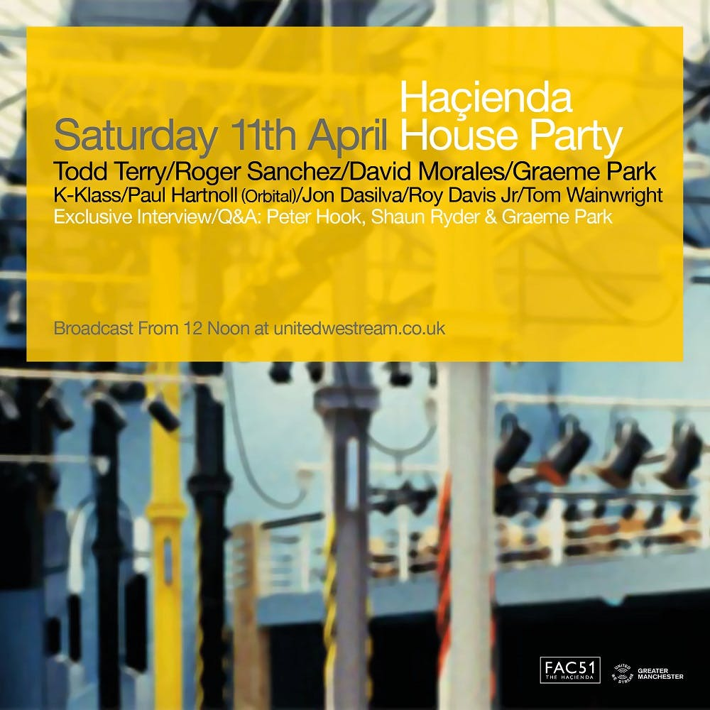 THE HACIENDA HOUSE PARTY ONLINE