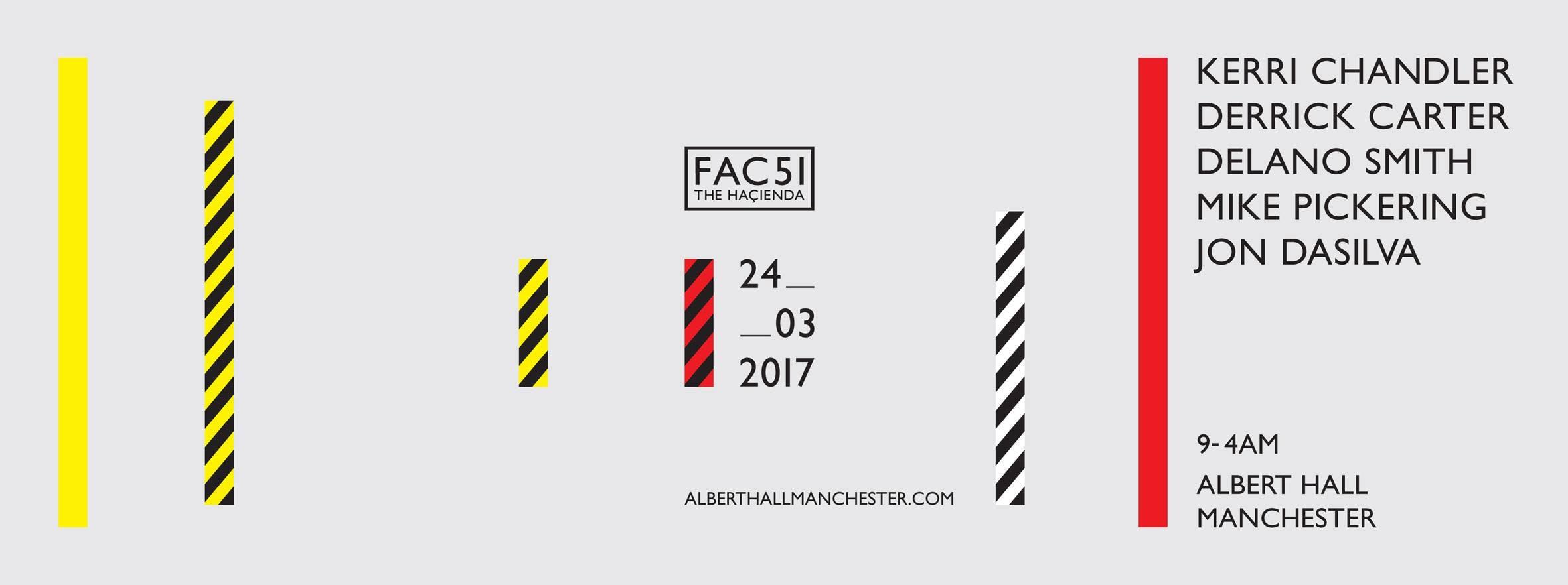 FAC51 THE HAÇIENDA – ALBERT HALL MCR