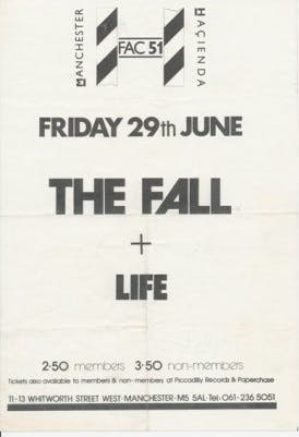 THE FALL – 29_06_84