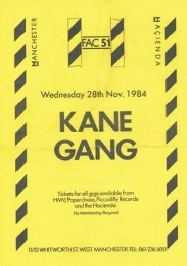 THE KANE GANG – 28_11_84