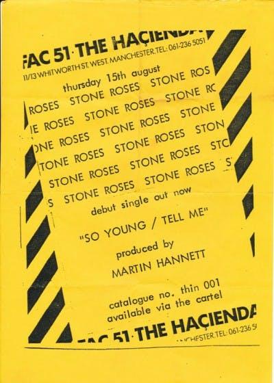 Playn Jane & The Stone Roses – 15_08_85
