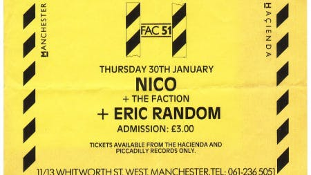 NICO & THE FACTION & ERIC RANDOM – 30_01_1986