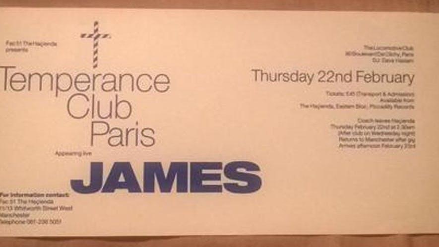 TEMPERANCE CLUB PARIS JAMES 22_02_90