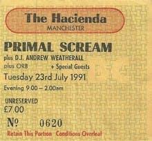 PRIMAL SCREAM 23_06_91
