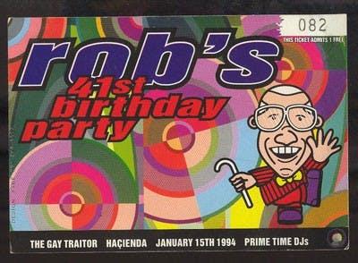 ROB GRETTON'S 41ST BIRTHDAY 15_01_95