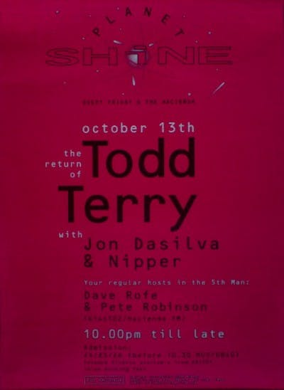 PLANET SHINE TODD TERRY 13_10_95