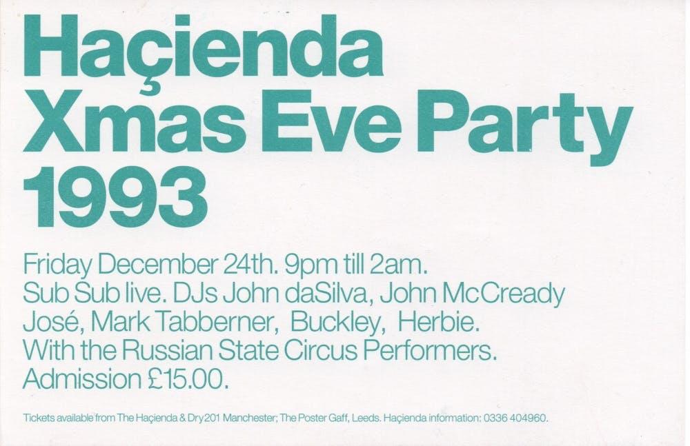 CHRISTMAS EVE 24_12_93