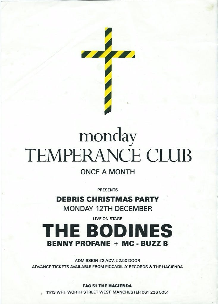 TEMPERANCE CLUB THE BODINES 12_12_88