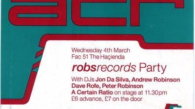 ROBS RECORDS A CERTAIN RATIO 04_03_92