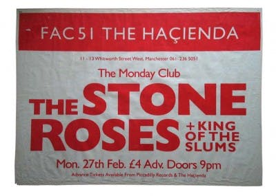 THE STONE ROSES & KING OF THE SLUMS 27_02_89