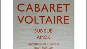CABARET VOLTAIRE (CANCELLED) 12_06_91