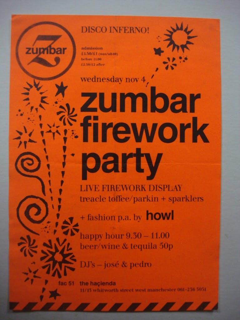 ZUMBAR FIREWORK PARTY 04_11_87