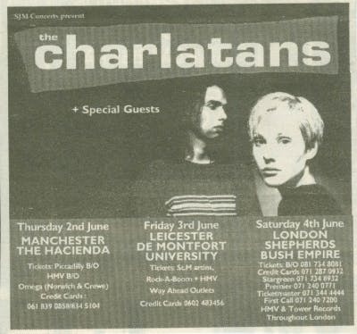 THE CHARLATANS 02_06_94