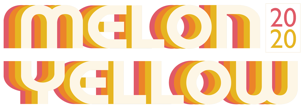 Melon Yellow Festival 2020 Logo