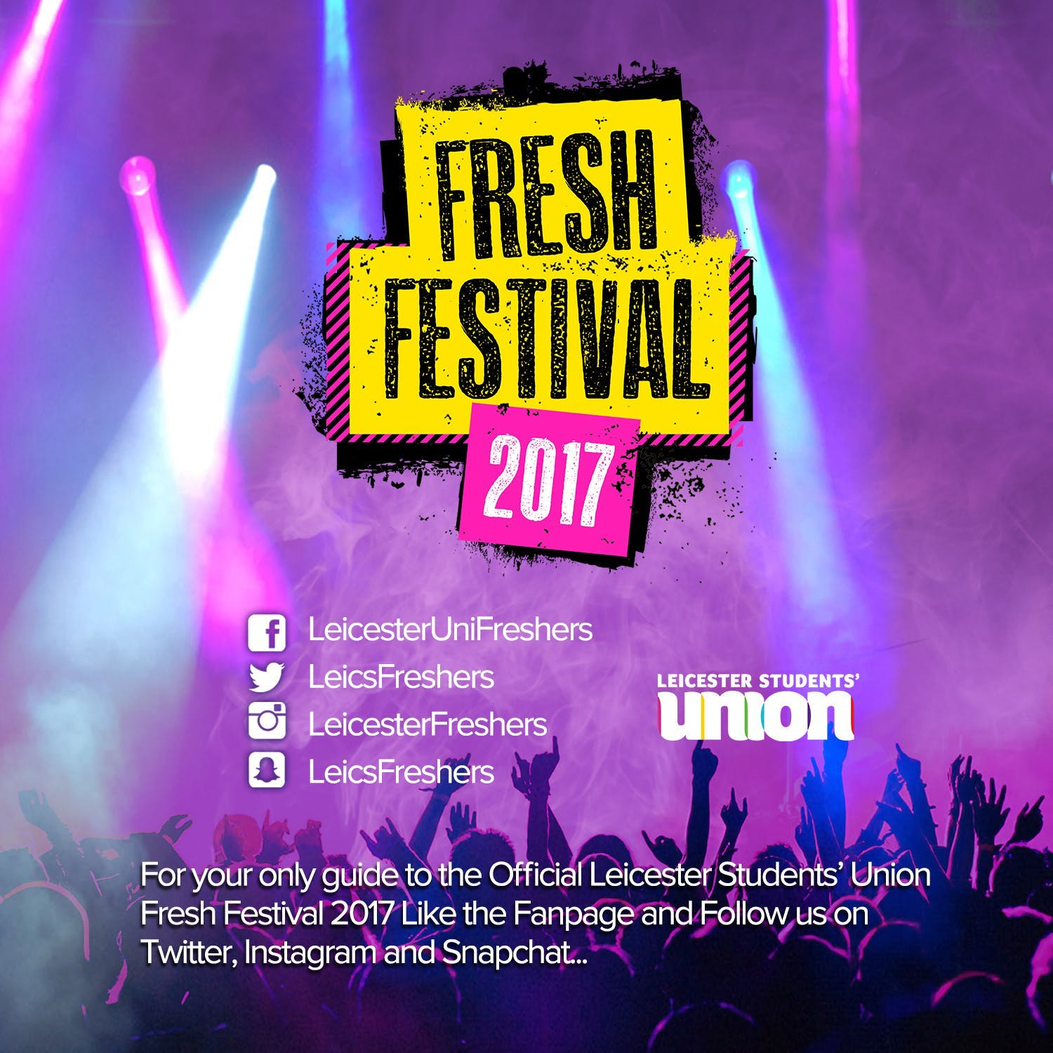 New website launched for Freshers 2017!