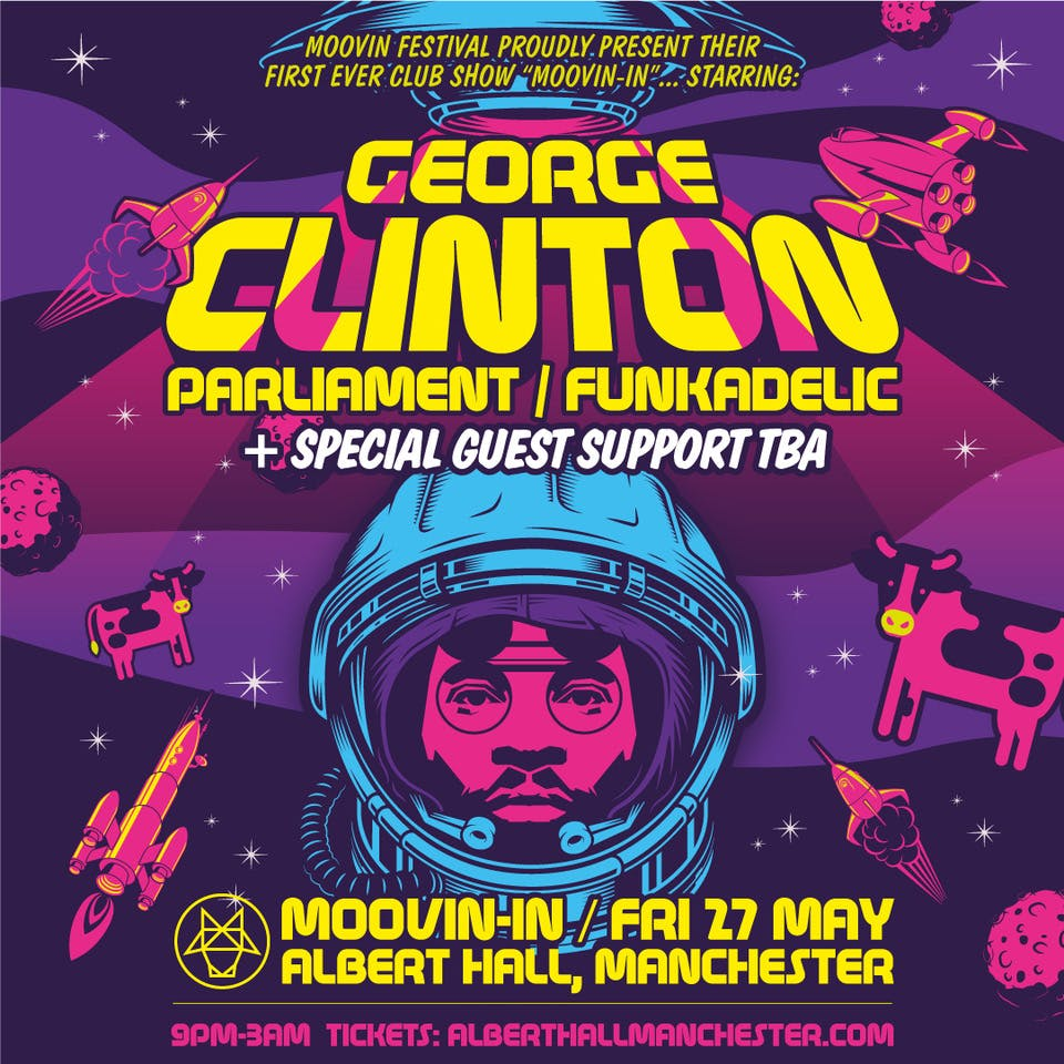 Moovin-in: George Clinton and Parliament Funkadelic