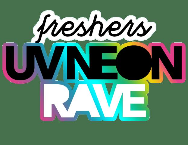 Fresher's UV Neon Rave Logo