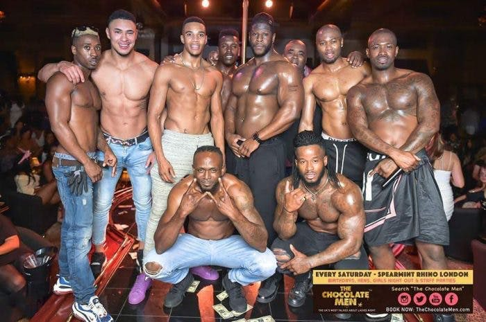 The Chocolate Men Show The Uks Most Talked About Ladies Night