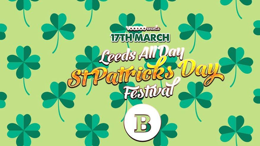 Leeds All Day St Patricks Day Festival