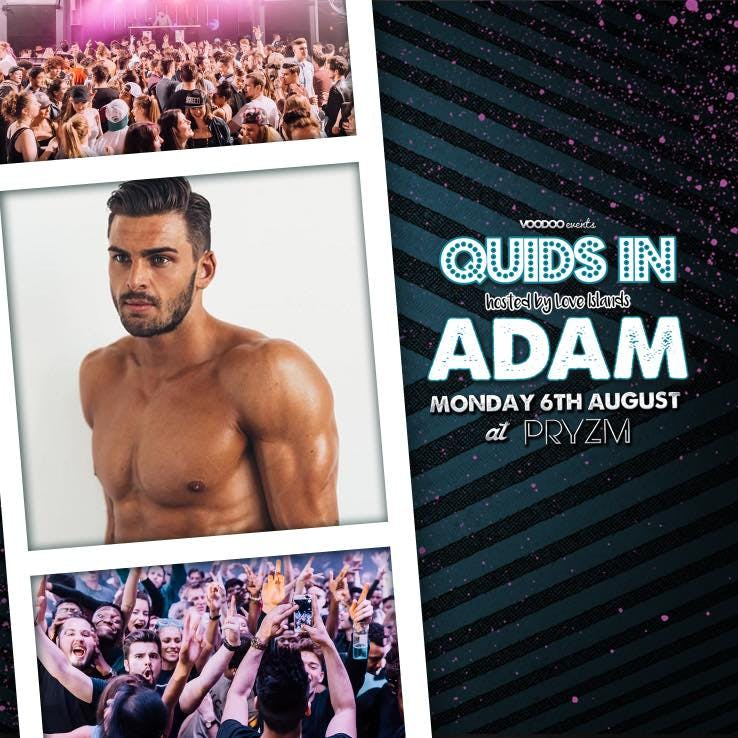 Quids In – Hosted by Adam from Love Island!