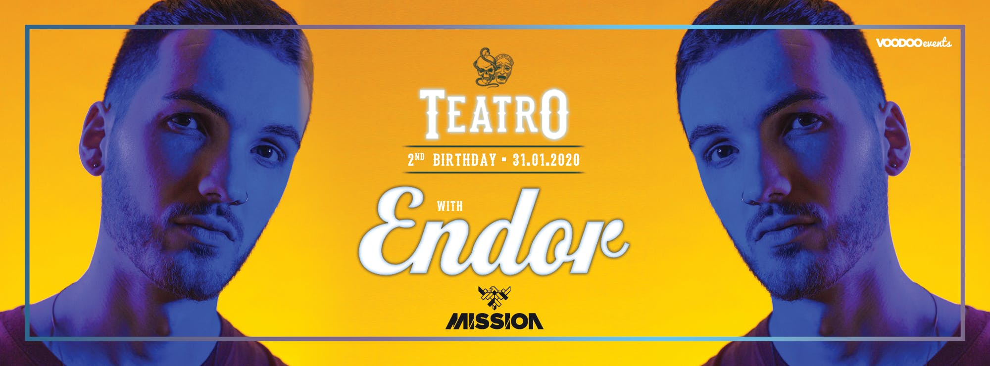 Teatro 2nd Birthday ft ENDOR