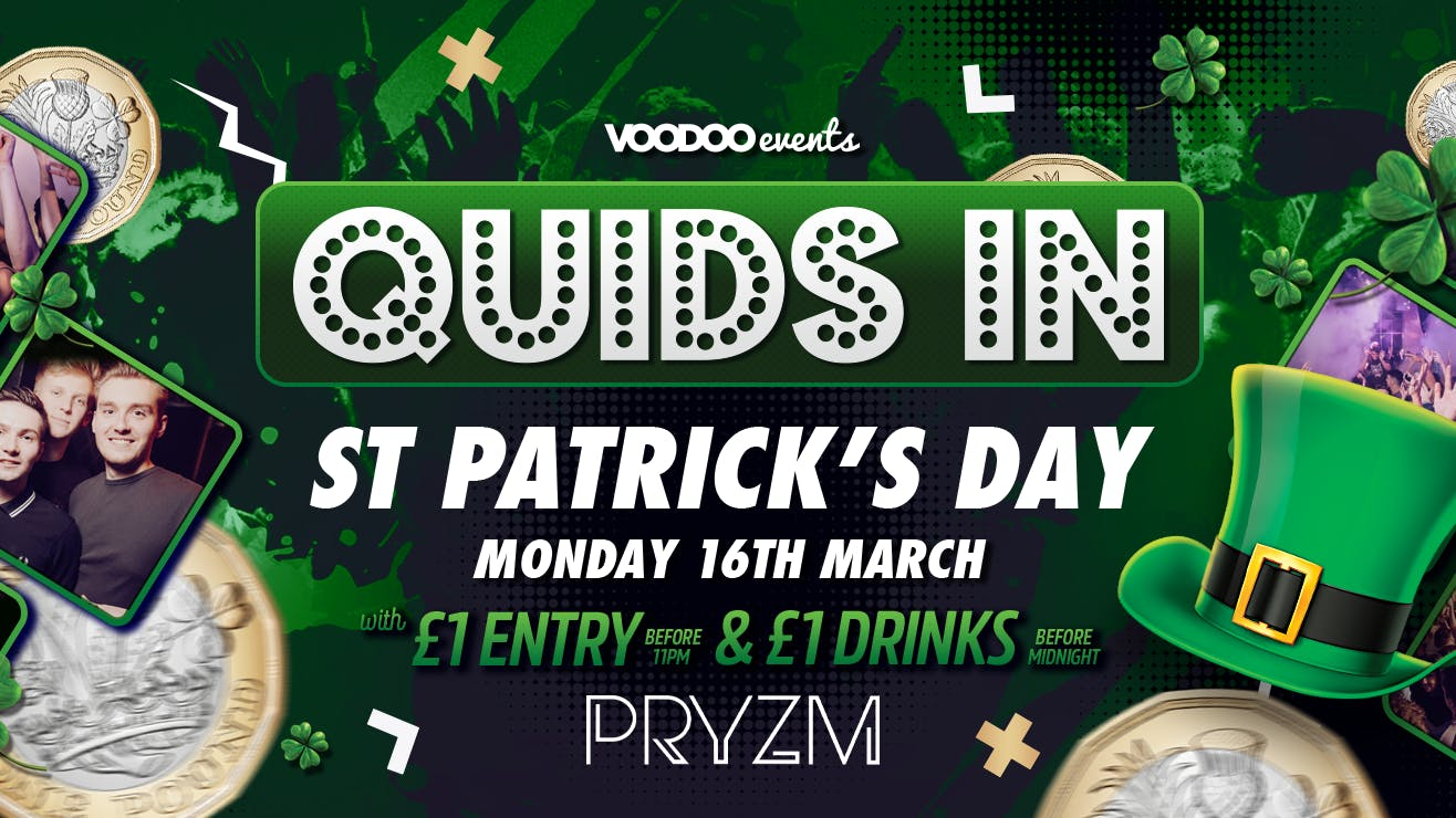Quids In – St Paddys Special 16/03/20