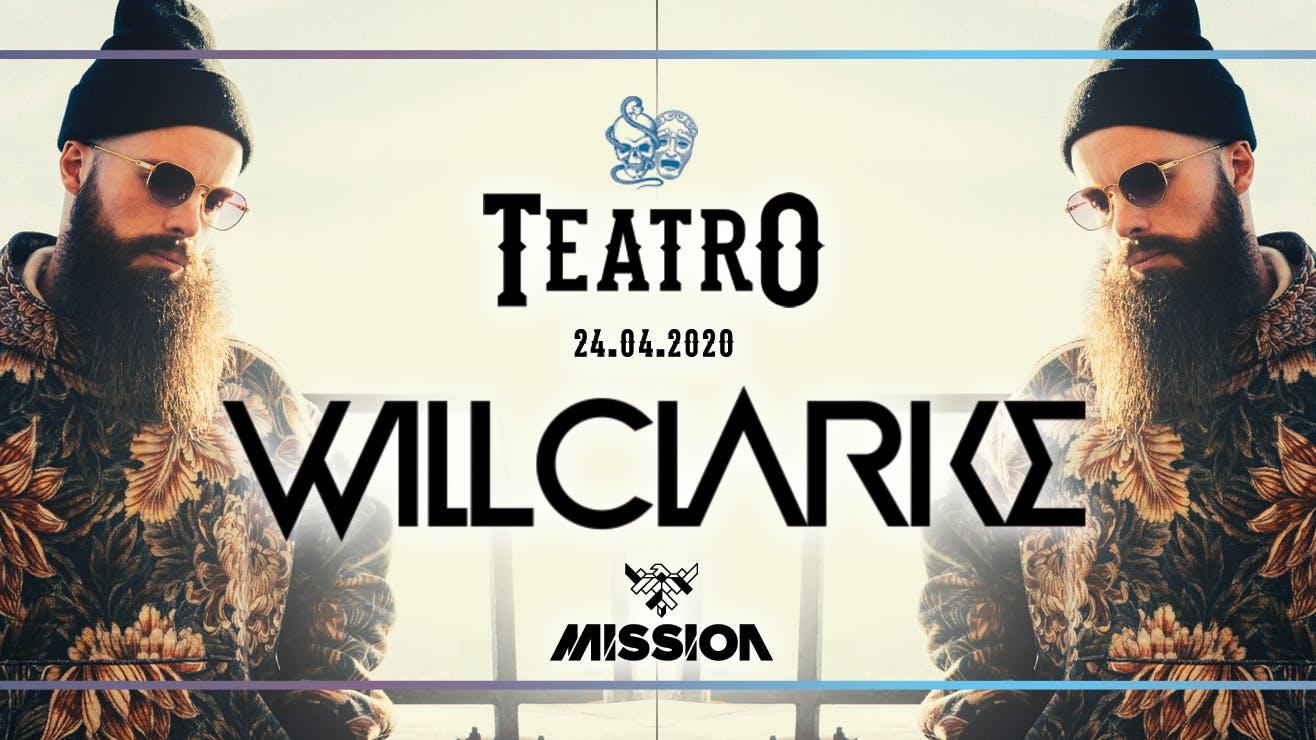 Teatro Fridays – WILL CLARKE 24/04/20