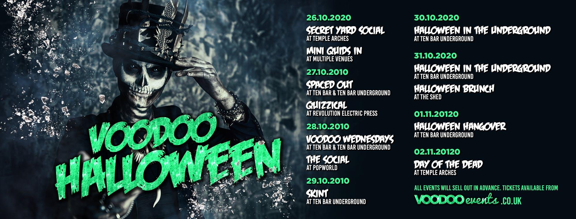 Voodoo Halloweek 2020