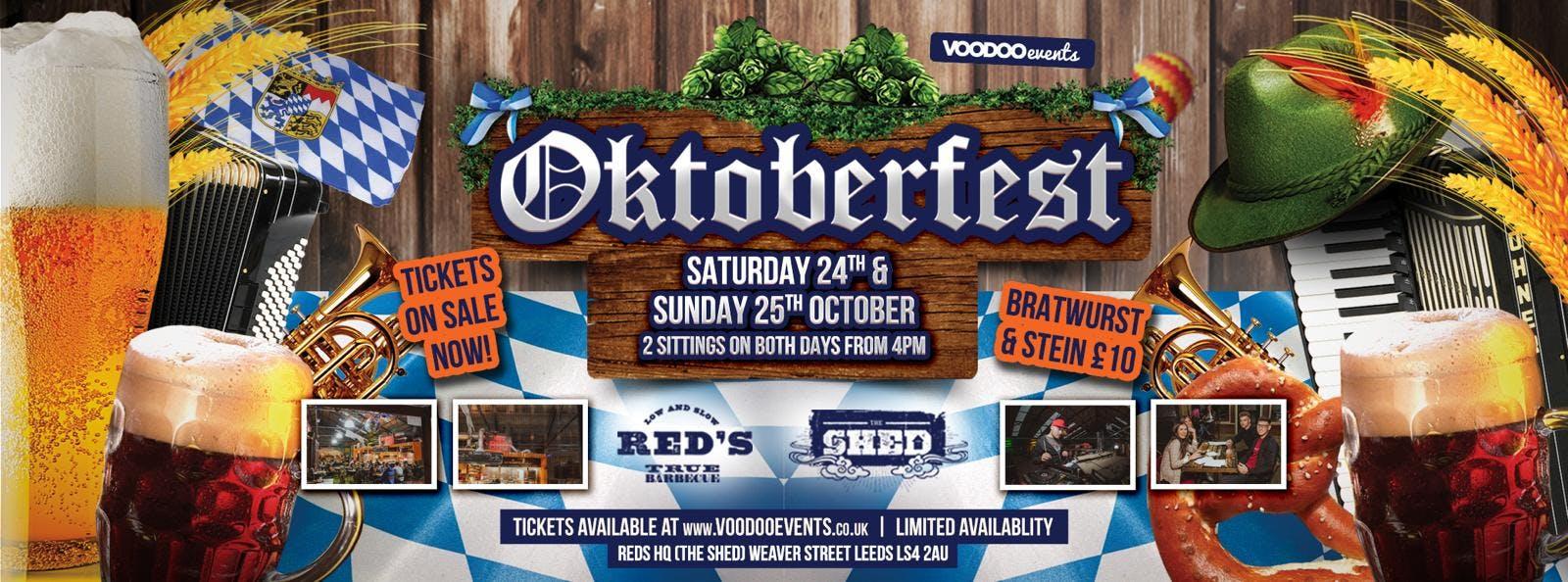 Voodoo Oktoberfest @ The Shed 24/25 October