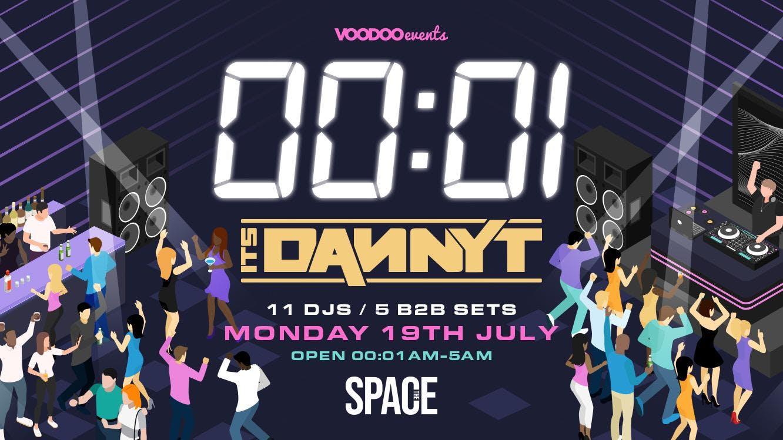 00:01 RETURN OF THE DANCEFLOOR with DANNY T!