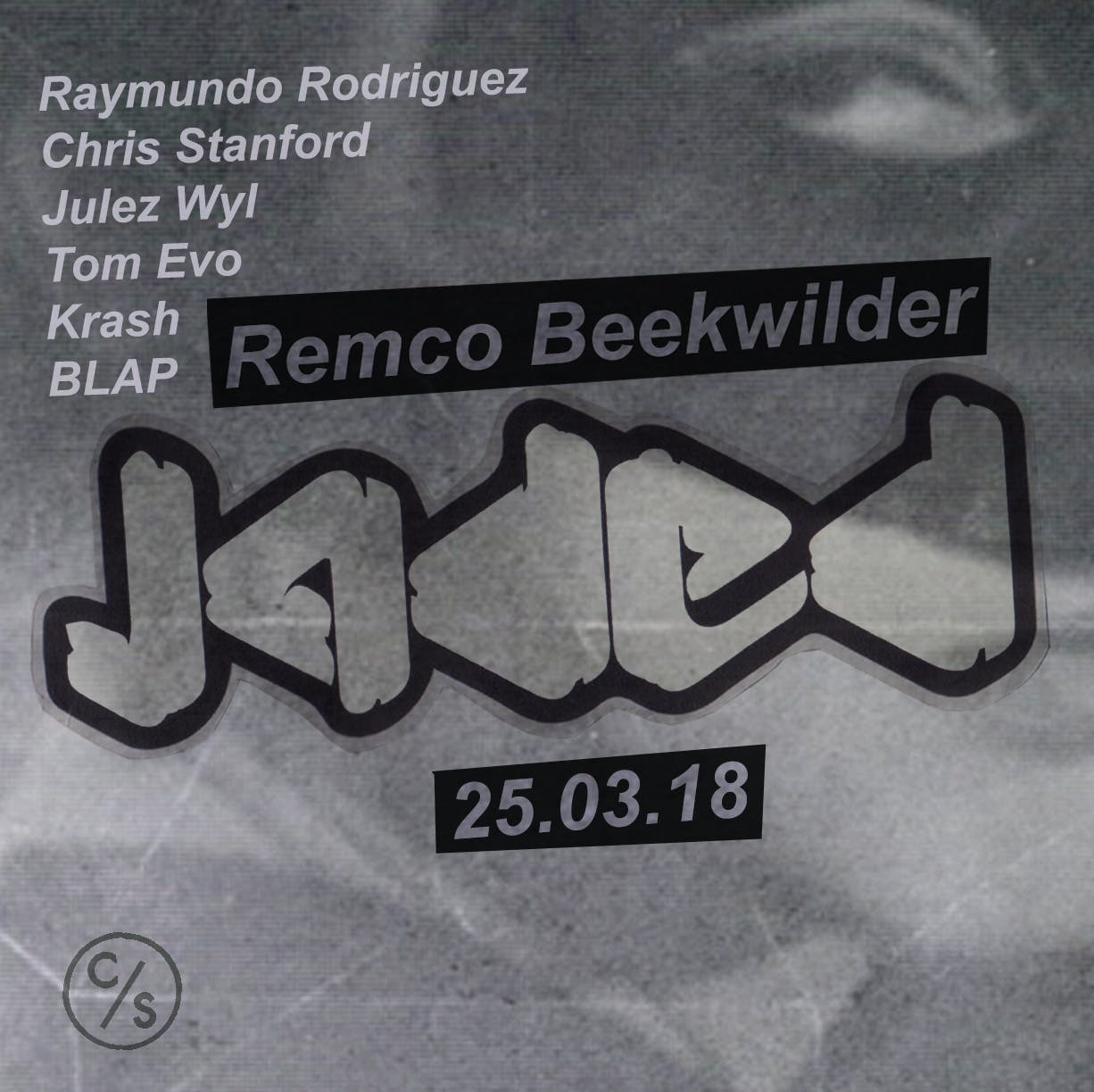 Just Announced: Remco Beekwilder Returns to Jaded Sunday 25th March.