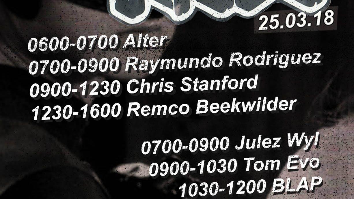 Warning: Remco Beekwilder plays 3.5 hours this Sunday.