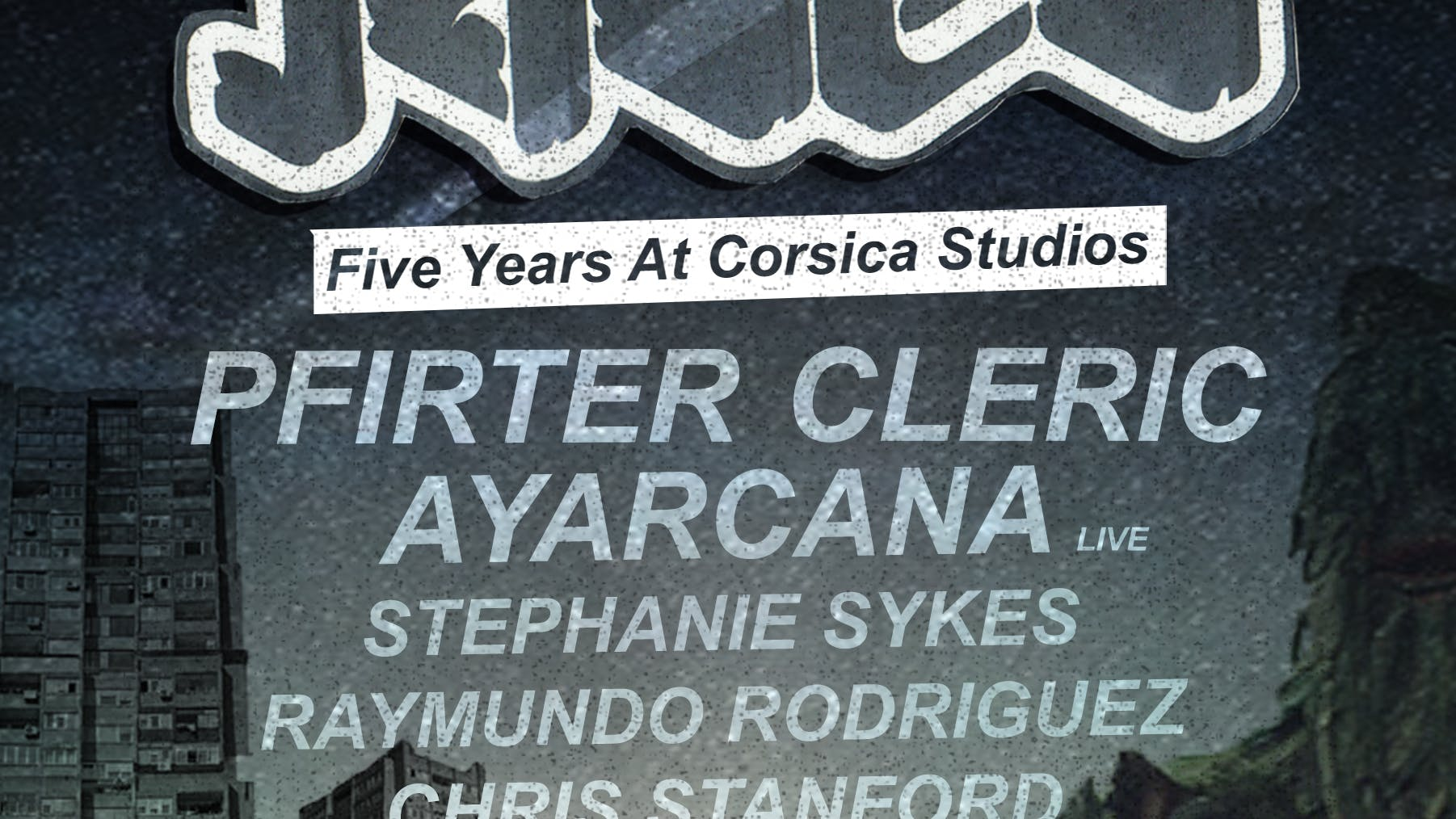Warning: Line Up Announced For Five Jaded Years at C/S.