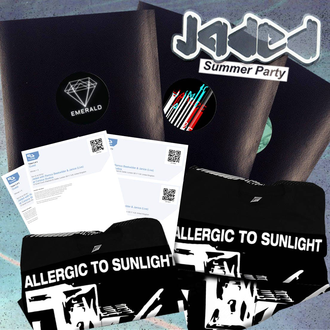 Jaded Summer Party Competition: Win tickets, tees & vinyl.