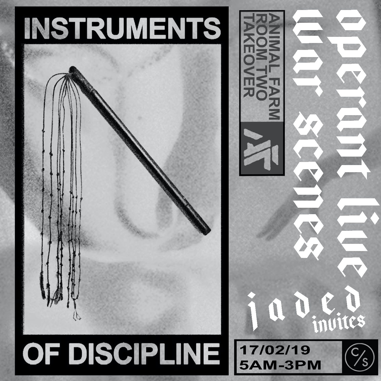Instruments Of Discipline to host their first London showcase.