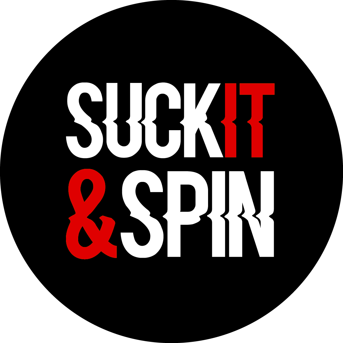 Suck It And Spin Logo