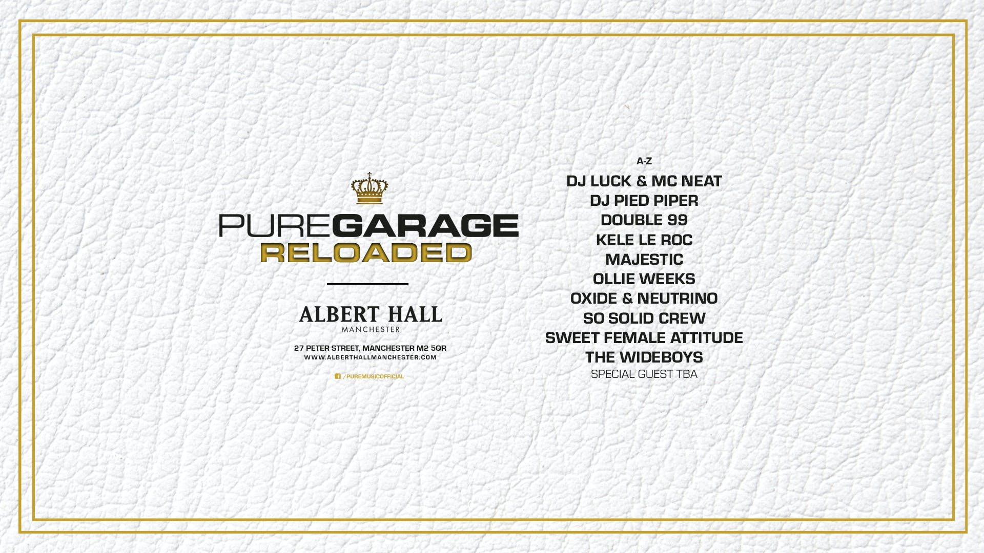 Pure Garage: Reloaded