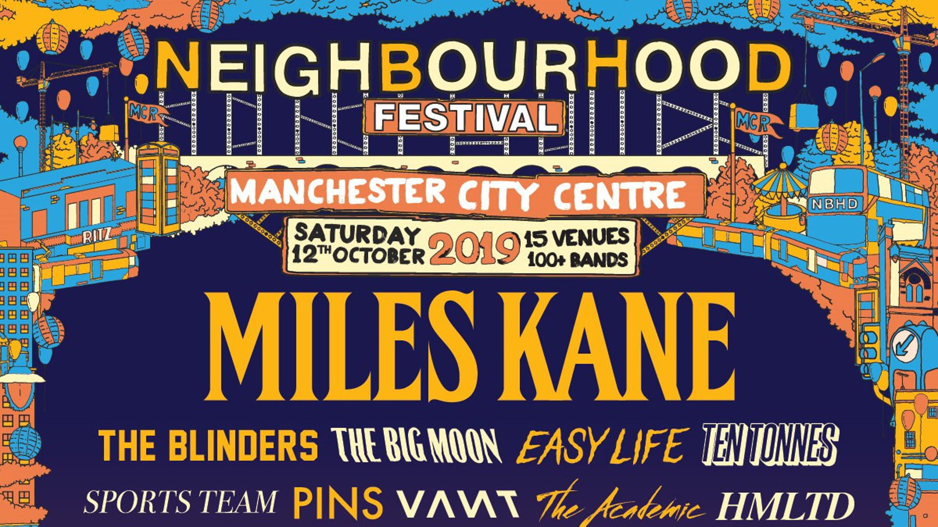 Hot Ticket: NEIGHBOURHOOD FESTIVAL 2019!